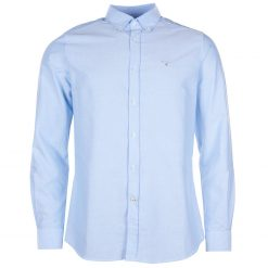 Barbour Oxford 3 Tailored Shirt - Sky