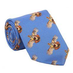 Clare Haggas High Flyer Tie - Cobalt Blue