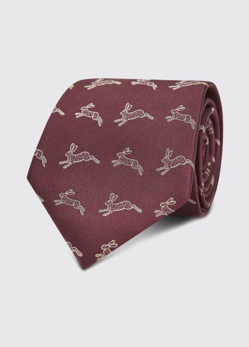 Dubarry Lacken Tie - Merlot