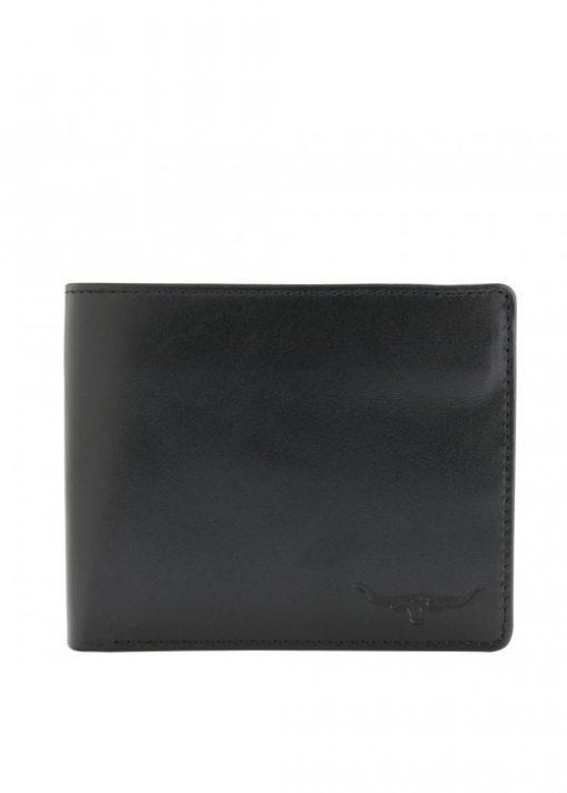 R.M Williams Tri Fold Wallet - Black