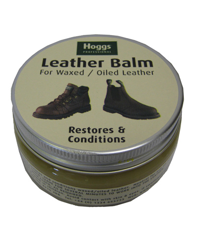 Hoggs of Fife Waxed Leather Balm - Neutral
