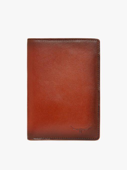 R.M Williams City Passport Cover - Cognac