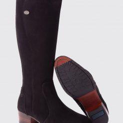 Dubarry Downpatrick Knee High Boot - Black Suede