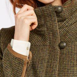 Dubarry Bracken Tweed Coat - Heath