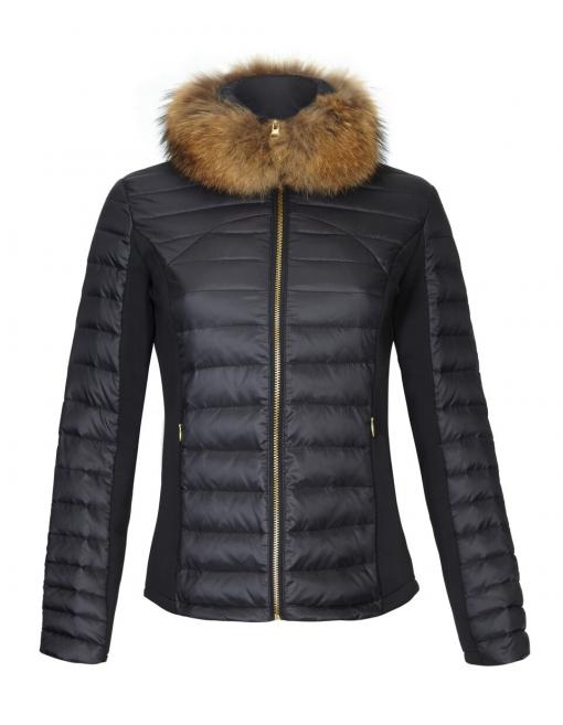 Guinea London Puffer Jacket - Black
