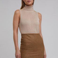 Holland Cooper Chelsea Mini Skirt - Tawny