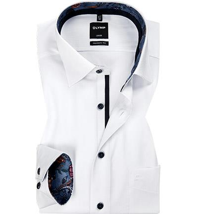 Olymp Luxor Modern Fit Shirt - White