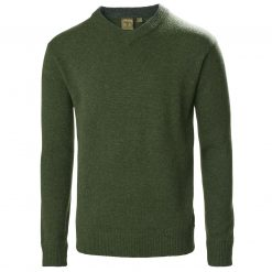 Musto Country V Neck Knit - Rifle Green