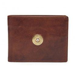 Hicks & Hides 12 Bore Wallet - Cognac