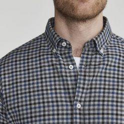 Holebrook Andy Shirt - Grey Multi