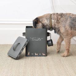 Sophie Allport Dog Treat Tin - Walkies