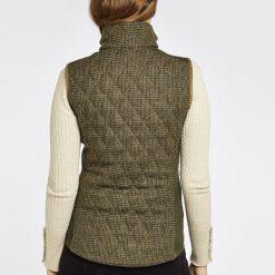 Dubarry Juniper  Tweed Gilet- Heath