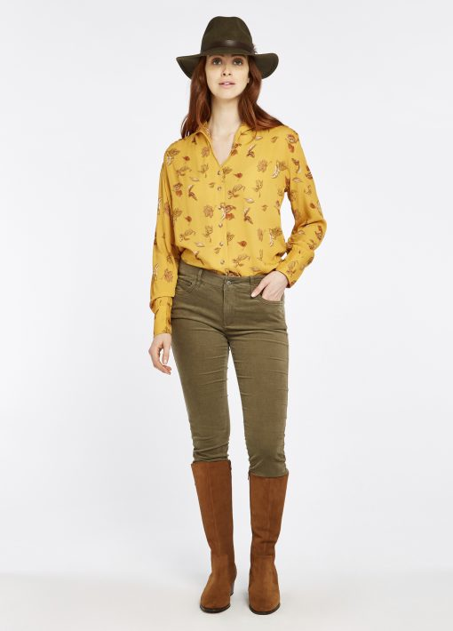 Dubarry Honeysuckle Jeans - Dusky Green