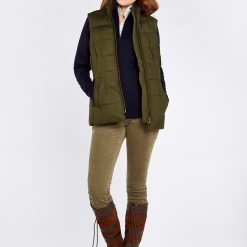 Dubarry Spiddal Quilted Gilet - Olive