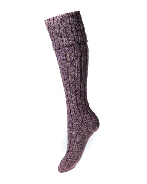 House of Cheviot Lady Harris Shooting Socks - Grouse