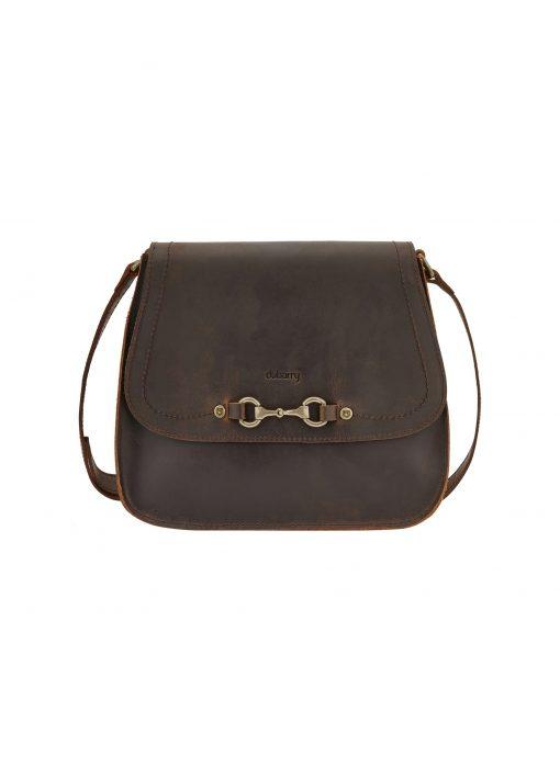 Dubarry Ballycroy Saddle Bag - Mahogany