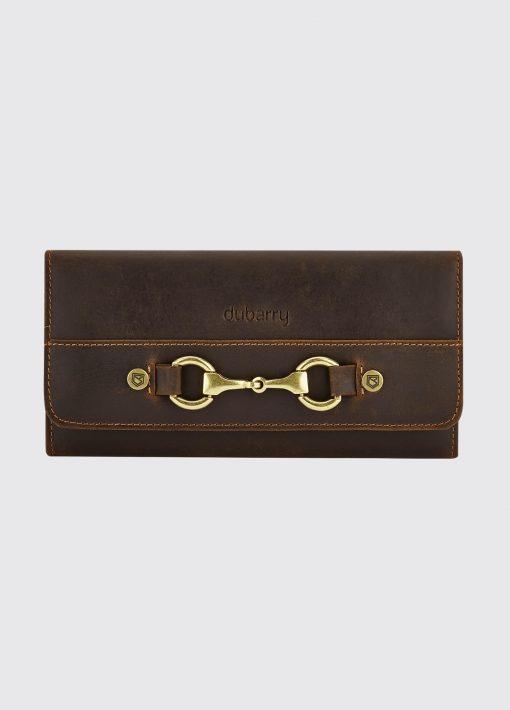 Dubarry Cong Leather Wallet - Mahogany