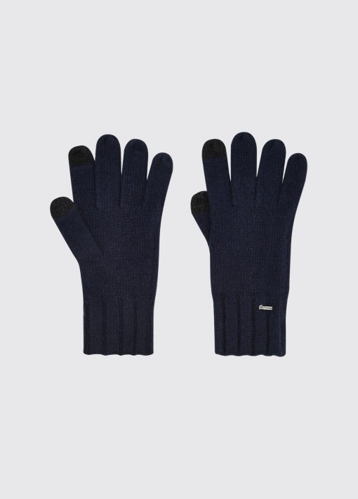 Dubarry Hayes Knitted Gloves - Navy