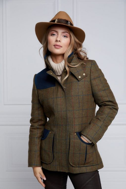 Holland Cooper Country Classic Jacket - Glen Green