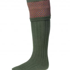 House of Cheviot Tayside Shooting Socks - Spruce