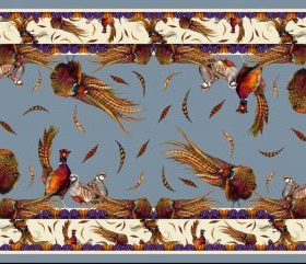 Clare Haggas George & Friends Classic Scarf - Pigeon