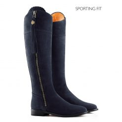 Fairfax & Favor The Regina Suede Boot Sporting Fit - Navy