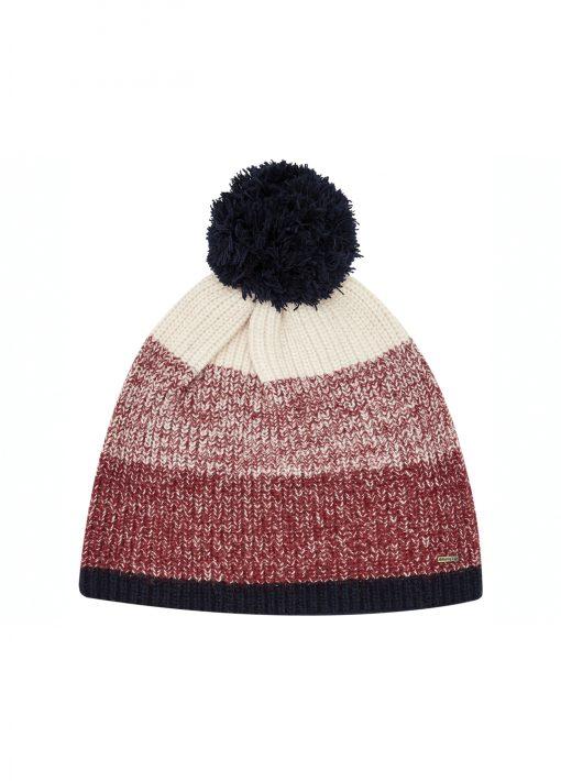 Dubarry Power Pom Pom Hat - Ruby