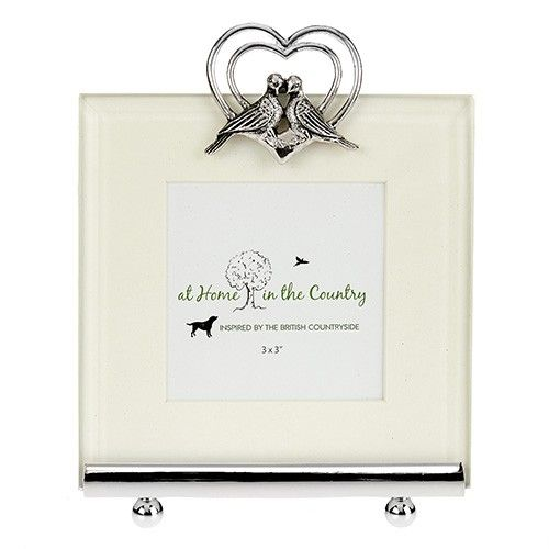 At Home In The Country Photo Frame - Lovebirds