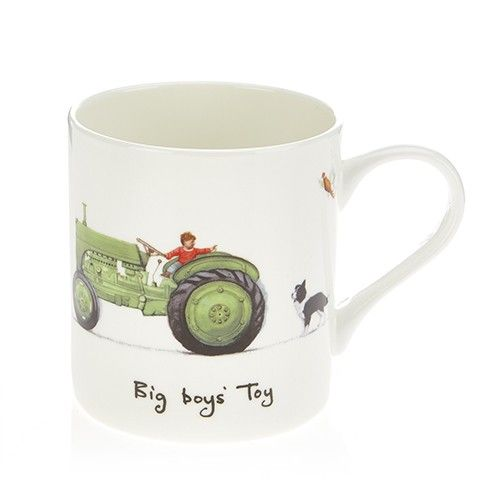 At Home In The Country Fine Bone China Mug - Big Boys' Toy
