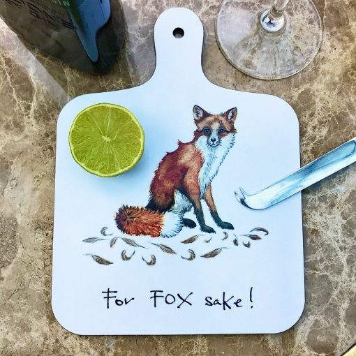 At Home In The Country Chopping Board - For Fox Sake!