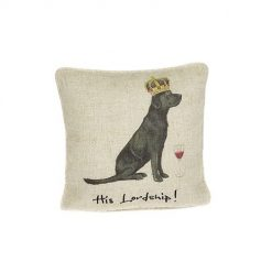 At Home In The Country Cushion - His Lordship