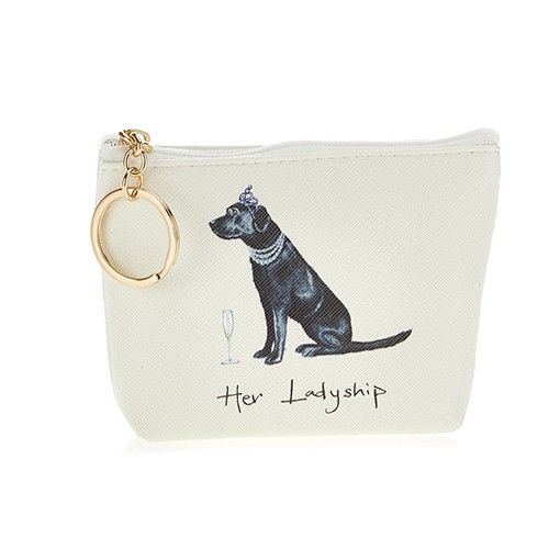 At Home In The Country Coin Purse - Her Ladyship
