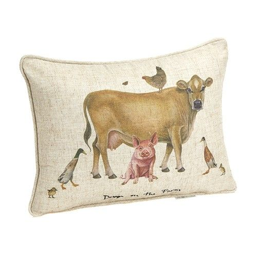 At Home In The Country Cushion - Down On The Farm