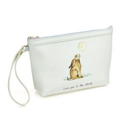 At Home In The Country Make Up Bag - Love You To The Moon