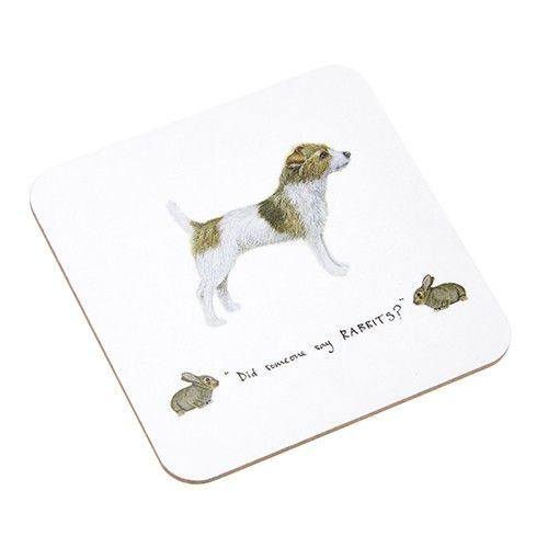 At Home In The Country Coaster - Did Someone Say Rabbit?