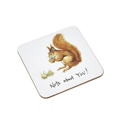 At Home In The Country Coaster - Nuts About You!