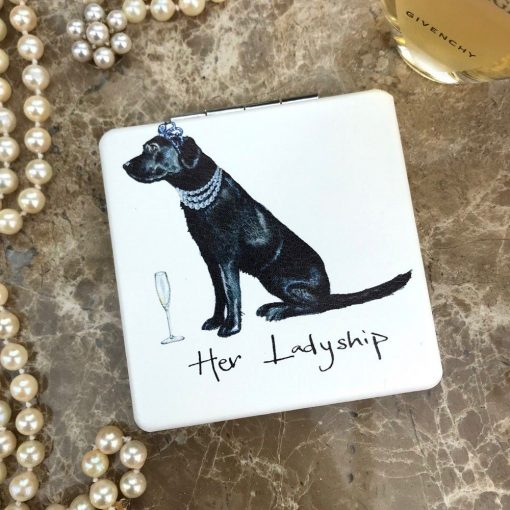 At Home in the Country Compact Mirror - Her Ladyship