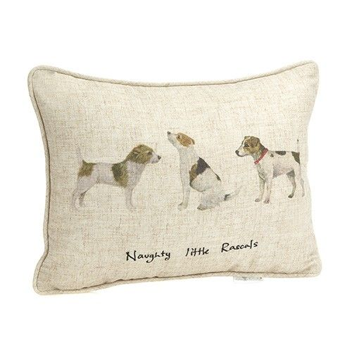 At Home In The Country Cushion - Naughty Little Rascals