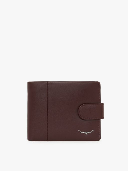 R.M Williams Wallet with Coin Pocket & Tab - Wine