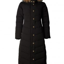 Holland Cooper Longline Coat - Black