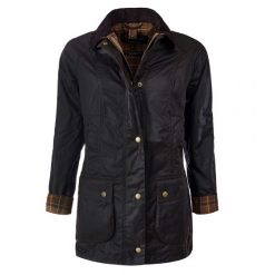 Barbour Beadnell Wax Jacket - Rustic