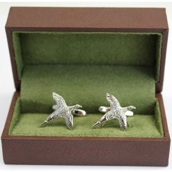 Soprano Solid Flying Pheasant Country Cufflinks