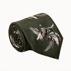 Clare Haggas Turf War Monochrome Tie - Khaki