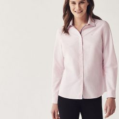 Crew Clothing Classic Oxford Shirt - Pink