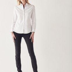 Crew Clothing Oxford Classic Shirt - White