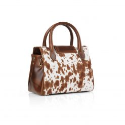 Fairfax & Favor The Mini Windsor Suede Handbag - Cowhide