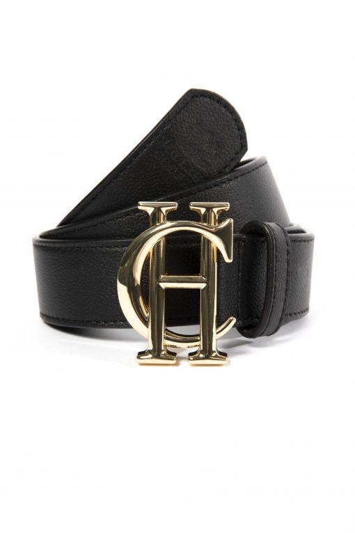 Holland Cooper Classic Belt - Black / Gold