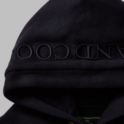 Holland Cooper GBE Flock Logo Hoodie - Ink Navy