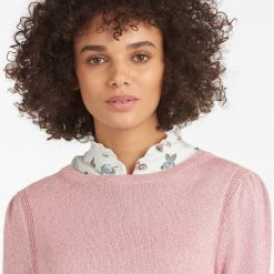 Barbour Bowland Sweater - Dusty Rose