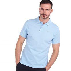 Barbour Sports Polo Shirt - Sky Blue